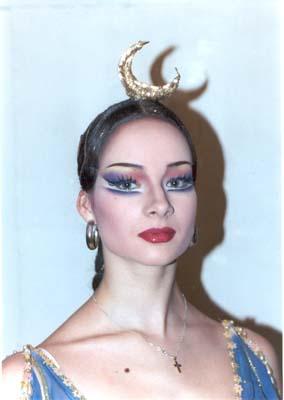 Балерины макияж